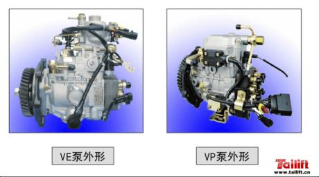 叉车发动机VE泵VP泵差异对比